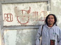Former resident of Alcatraz - Edward Willie