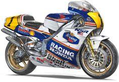 Honda 1989 NSR500 - Eddie Lawson