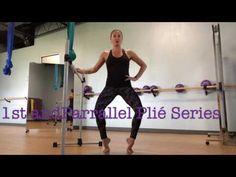 1st and Parallel Pliè Series with Pulse - YouTube