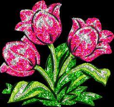 imágenes-de-flores-bonitas-con-movimiento-y-brillo.gif (350×330)
