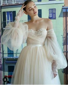 Tendance Robe De Mariée 2018 : Galia Lahav Fall 2019 Bridal Wedding Dress // off shoulder sheer balloon sleeves, Tendance Robe De Mariée 2018 : Galia Lahav Fall 2019 Bridal Wedding Dress. Tendance Robe De Mariée 2018 : Galia Lahav Fall 2019 Bridal W. Wedding Dress Trends, Bridal Wedding Dresses, Wedding Ideas, Wedding Reception, Couture Bridesmaid Dresses, Wrap Wedding Dress, Wedding Venues, Wedding Inspiration, Tulle Wedding