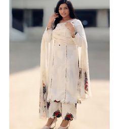 Suits For Women, Women Wear, Clothes For Women, Cotton Kurties, Punjabi Suits Designer Boutique, Kurta Neck Design, Embroidery Suits Design, Designer Collection, Indian Fashion