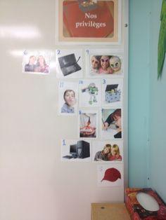Privilège individuel pour les élèves qui ont accumulé assez de points. Points, Photo Wall, Education, Frame, Decor, Picture Frame, Photograph, Decoration, Onderwijs