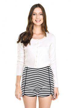short pants listrado - Dress To - R$179