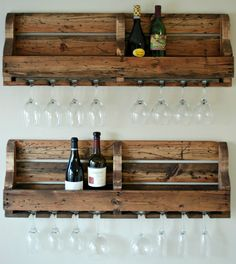 Small Space Hack: 10 Ways to Fit a Home Bar Anywhere via Brit + Co