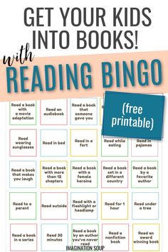 Free Printable Reading Bingo Challenge for Kids During the Summer Reading Bingo, Kids Reading, Miss Friend, Good Books, Books To Read, Enough Book, Summer Books, Reading Challenge, Teaching Tips