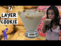 How to make the 7 Layer Cookie Cocktail - Tipsy Bartender - YouTube