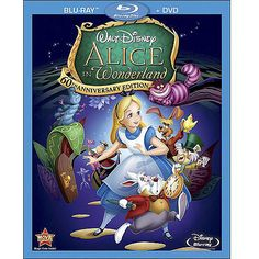 Alice In Wonderland - 60th Anniversary Edition (Blu-ray + DVD) (Widescreen)