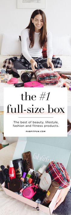 Love trying new products? Join FabFitFun! Use code HAPPY to get your first box for just $39.99.  Each season you'll get over $200 of luxe, full-size beauty, fashion, + wellness finds for just $49.99. Plus FREE SHIPPING