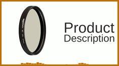 AmazonBasics 67 mm Circular Polarizer Lens