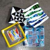 """Image detail for -Medium Fused Glass Plates - 8.5"""" square"""
