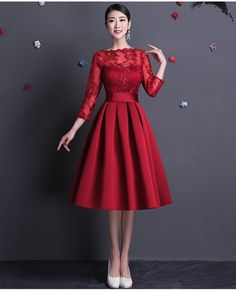 Aliexpress.com : Buy 2015 New Elegant Boat Neck Sexy Backless Red Short Evening Dress With Long Sleeves from Reliable dress topper suppliers on Fairyland In Reality | Alibaba Group