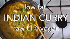 low fat vegan curry - YouTube
