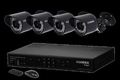 (CLICK IMAGE TWICE FOR DETAILS AND PRICING) Security dvr with 4 outdoor surveillance cameras with night vision. complete 4 camera security dvr system with 4 indoor_outdoor surveillance cameras. See More Home Security at http://www.ourgreatshop.com/Home-Security-C235.aspx