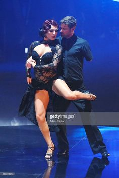 """Dancing With the Stars - Sharna Burgess & Noah Galloway danced an Argentinian Tango to Clean Bandit & Jess Glynne's """"Rather Be"""" Season 20 - week 3 'Latin Night - Spring 2015 - score - 7+7+8+8 = 30"""
