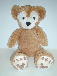 "DUFFY THE DISNEY BEAR 17"" Hidden Mickey Plush Stuffed Bear"