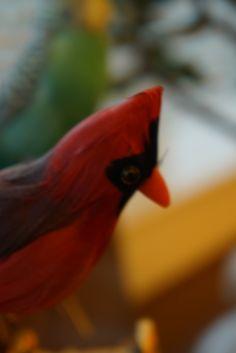 d-laboコミュニケーションスペースにいる鳥の置物