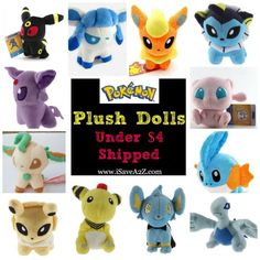 That Shinx plush looks just like the one I have, but it was $17. ;-; The problem with these is legitimacy though. Mine was at least guaranteed legit.