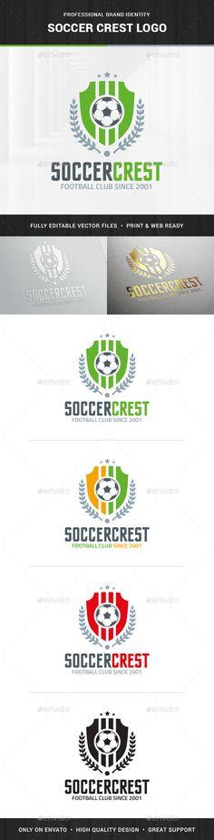 Soccer Crest Logo Template