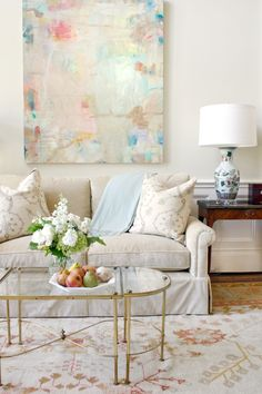 art by cathy lancaster from blue print | design by jenkins interiors