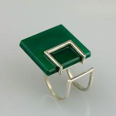 Association for Contemporary Jewellery Minimal Jewelry, Modern Jewelry, Jewelry Art, Jewelry Rings, Jewelery, Silver Jewelry, Jewelry Accessories, Silver Ring, Bijoux Design