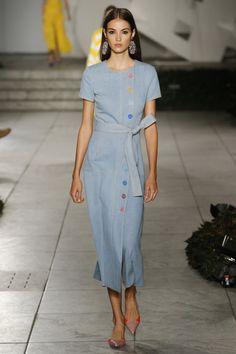 Carolina Herrera, Весна-лето 2018, Ready-To-Wear, НЕДЕЛЯ МОДЫ: Нью-Йорк