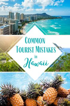 Heading to Hawaii? First learn these 14 common tourist mistakes in Hawaii and how you can avoid making them when you visit the islands! Hawaii Travel Guide, Usa Travel Guide, Travel Usa, Travel Tips, Beach Travel, Travel Luggage, Budget Travel, Hawaii Honeymoon, Hawaii Vacation