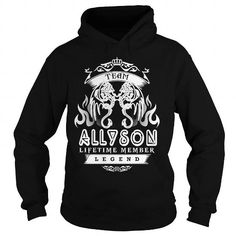 Awesome Tee TeeForAllyson  Team Allyson  New Cool Allyson Name Shirt  T shirts