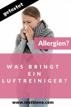 """Nina ist fast gegen fast alle Gräser, Blüten und Pollen allergisch und leidet von Frühjahr bis  Spätsommer daran. Dazu kommen noch eine Allergie gegen Tierhaare sowie eine Hausstaub-Allergie.  Über die Jahre haben sich bei ihr die Symptome verändert. Es fing es ganz """"normal"""" mit laufender Nase, juckenden Augen und Niesen an. Mittlerweile hat sie allergisches Asthma, bekommt Hautausschlag und leidet häufig unter Bindehautentzündungen.  Wie sehr ihr ein Luftreiniger hilft, das erzählt sie hier:"""