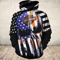 Biker Gloves, Biker Wear, Punisher Skull, Skull Hoodie, Custom Harleys, Motorcycle Outfit, Sustainable Fabrics, Skull Design, Harley Davidson