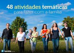 """Ideias sobre atividades temáticas para a família sobre história da família, serviço ao próximo, autossuficiência e segurança. No artigo """"Noite Familia..."""