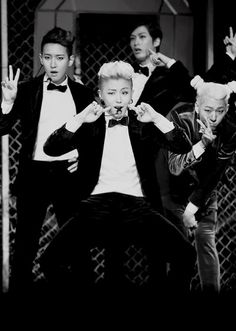 B-Bomb, Ukwon, Jaehyo + Zico // Block B. I can't decide which face is the best :D