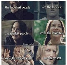 The hunger games has taught me so much