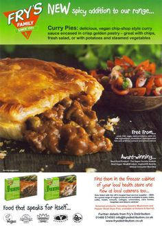 Vegan Product: Fry's Curry Pies http://veganfuture.wordpress.com/2013/03/11/vegan-product-frys-curry-pies/