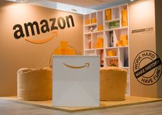 Amazon Web Dev Cape Town X-Board Exhibit by liam beattie, via Behance Trade Show Booth Design, Exhibit Design, Temporary Architecture, Cardboard Display, Wall Of Fame, Environmental Graphics, Environment Design, Pop Up Stores, Event Design