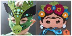 Inspire-se com essas dicas de fantasias infantis minimalistas feitas de feltro.