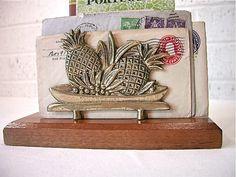 Pineapple mail/napkin holder!