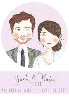 Illustrated Save the Date