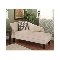 Free Shipping !!! Chaise Storage Lounge Sofa Couch Daybed Chair Loveseat Padded Modern Style Decor This present day, smart storage chaise is an appealing and practical expansion to any space. It offers agreeable parlor like seating with capacity for things, for example, materials and pads. This flexible piece will fit with any style.Smooth, present day lines, dark hardwood legs and beige cotton upholstery highlight this storage chaise. This parlor seat opens to uncover a remarkable…