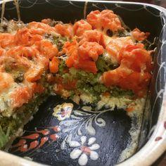 gratin carottes brocolis