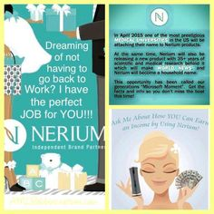 Contact me for more information! www.lindageer7.nerium.com