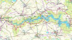 Mapa celé Dalešické přehrady Diagram, Map, Maps
