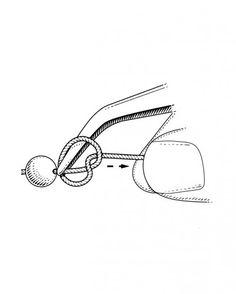 Fare i nodi alle collane di perle