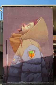 this isn't happiness™ Peteski Murals Street Art, Street Art Graffiti, Mural Art, Wall Mural, Urban Street Art, 3d Street Art, Amazing Street Art, Street Artists, Art And Illustration