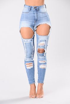 Perfect Timing Jeans - Light Blue | Blue, Skinny legs and Lights