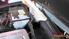Cabin air filter replacement- Cadillac CTS