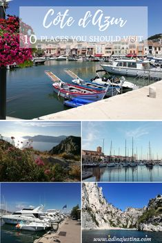 Cote d´Azur, France - 10 places you should visit - ultimate guide Usa Places To Visit, Best Places To Travel, Weather In France, Holidays France, Family World, Road Trip Europe, Visit France, Paris City, Koh Tao