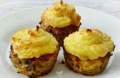 Fasírt muffinsütőben sütve, krumplipürével | femina.hu