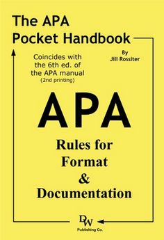 cover page apa 6th edition