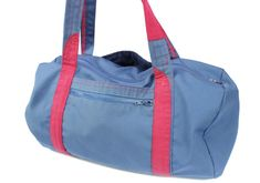 Serger Pepper 4 Craftsy - Gym Bag from a Men's Jacket - here's your bag